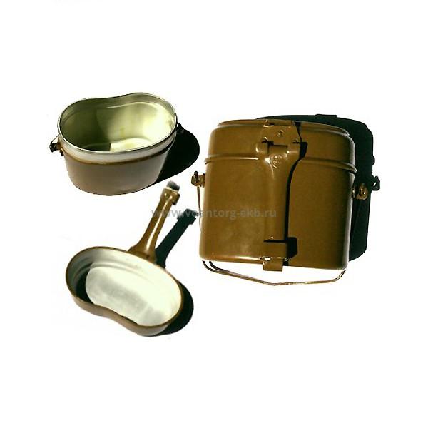 котелки армейские для военнослужащих, солдатский котелок СССР