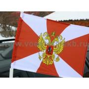 Флаг Внутренних войск на машину с кронштейном