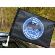 Флаг на машину с кронштейном