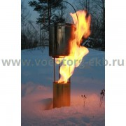 Огонь лебедева - Средний, с высотой пламени 0,4 м